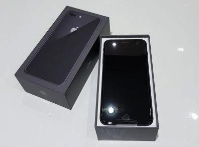 marketable smartphones in a nice black box packaging
