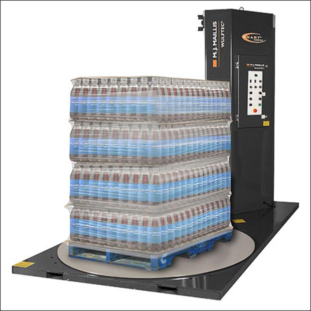semiautomatic stretch wrap machine