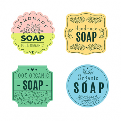 soap labels